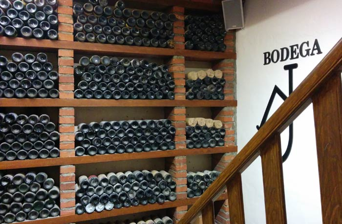 Bodega del Casa Pacheco restaurantes en Salamanca provincia