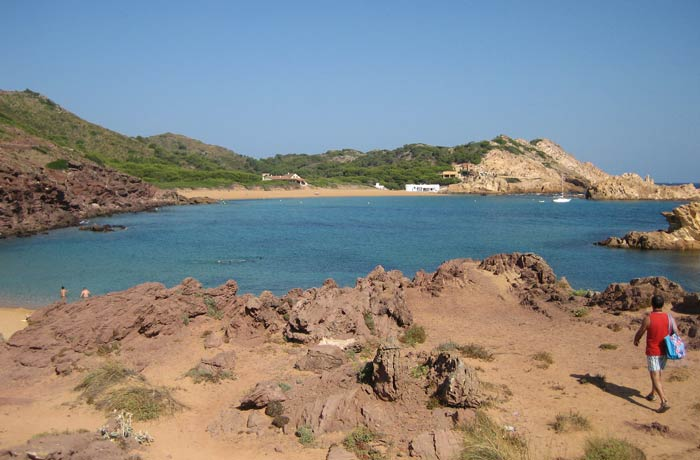 Cala Pregonda mejores calas de Menorca