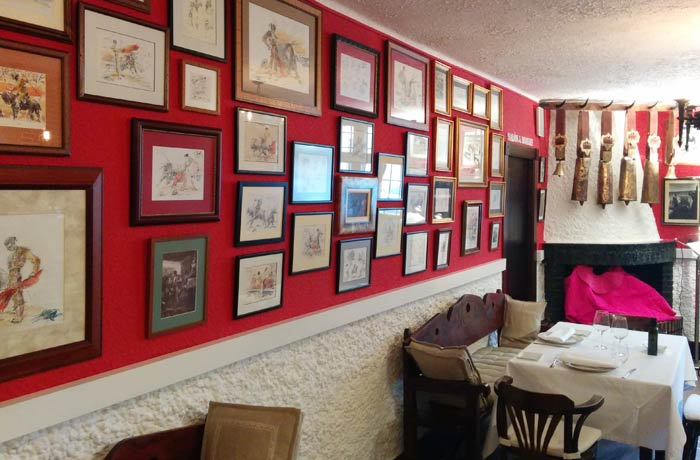 Interior del restaurante Casa Pacheco restaurantes en Salamanca provincia