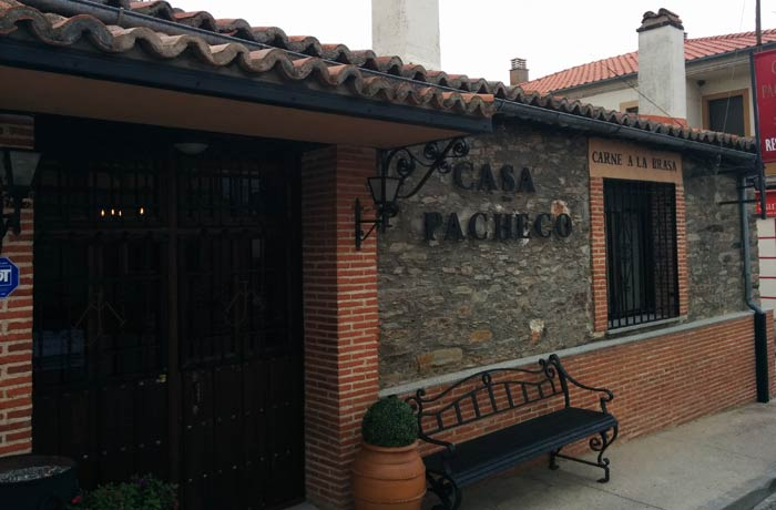 Restaurante Casa Pacheco en Vecinos restaurantes en Salamanca provincia