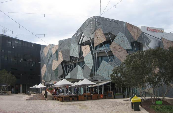 Edificio del Australian Centre for the Moving Image qué ver en Melbourne