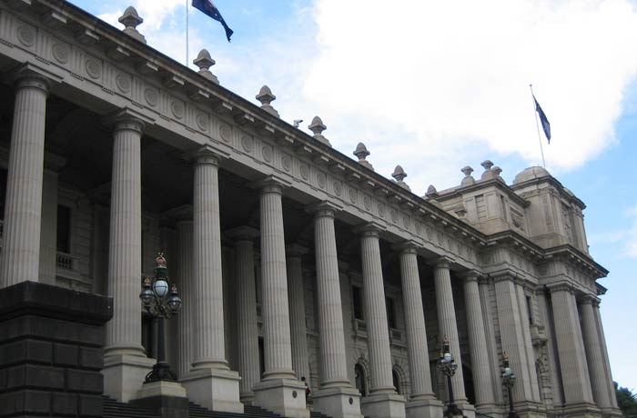 Casa del Parlamento de Victoria qué ver en Melbourne