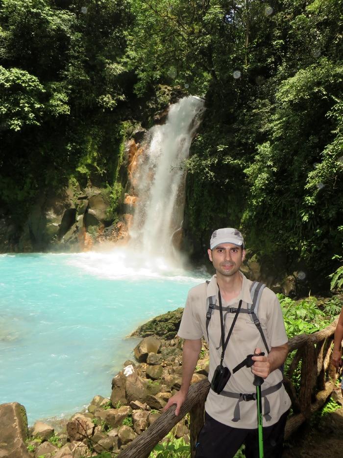 Otro vista de la catarata de Río Celeste