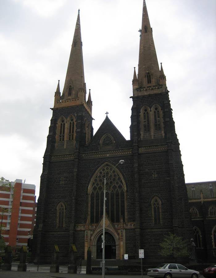 Catedral de San Patricio qué ver en Melbourne