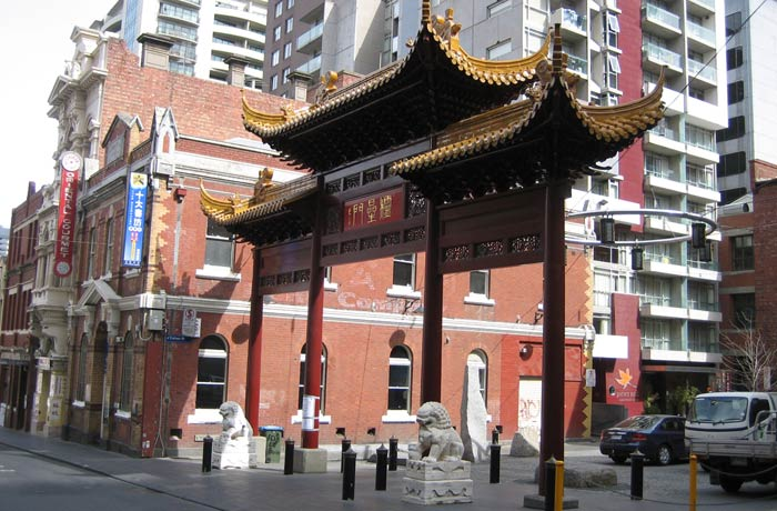 Chinatown qué ver en Melbourne
