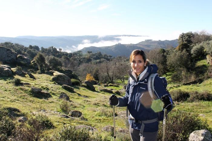 Primeros compases de la ruta en los alrededores de Pinilla de Fermoselle meandro del duero