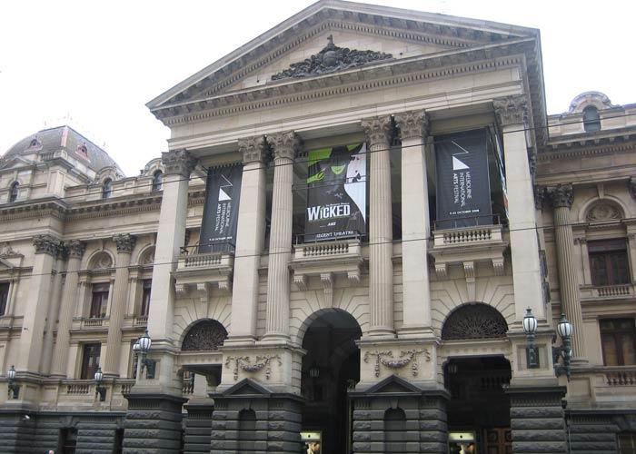 Melbourne City Town Hall, sede del Ayuntamiento