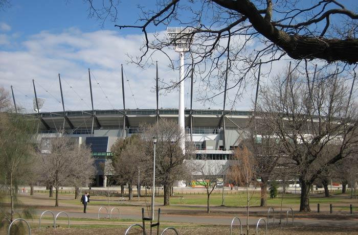 Exterior del Melbourne Cricket Ground