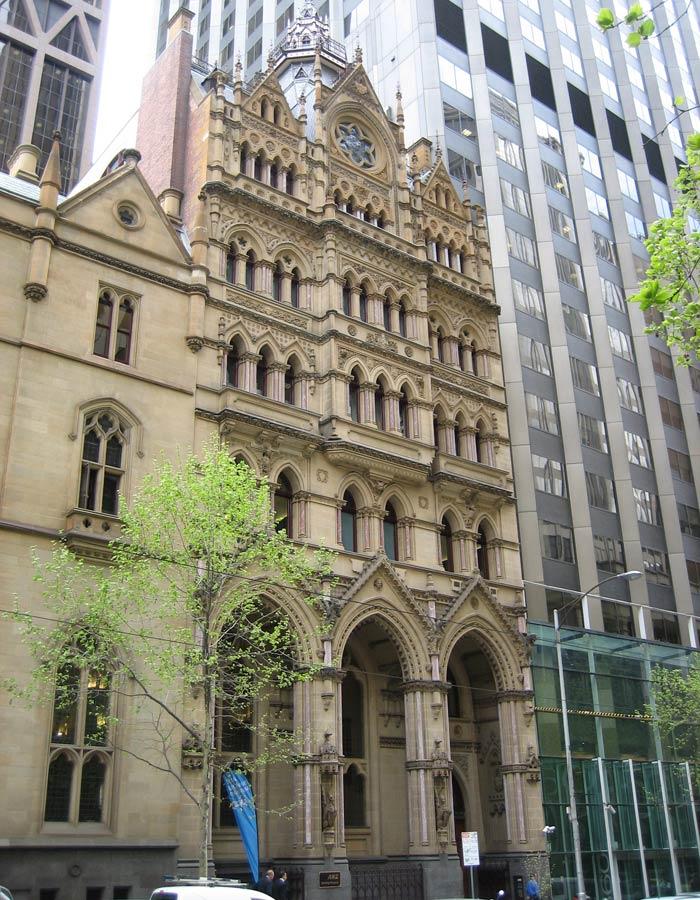 Museo del Banco AZN qué ver en Melbourne