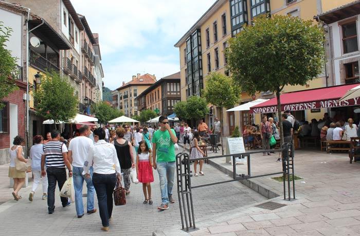 Sidrería Ovetense de Cangas de Onís comer en Asturias