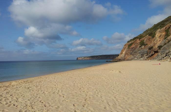 Playa de Figueira en Vila do Bispo mejores playas del Algarve