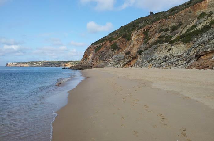 Paradisiaca Playa de Figueira mejores playas del Algarve