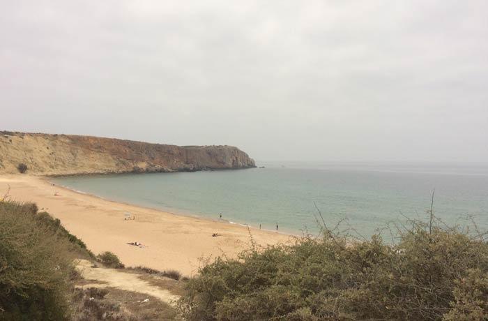 Playa da Mareta en Sagres mejores playas del Algarve