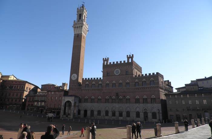 Plaza del Campo de Siena plazas más bonitas de Europa