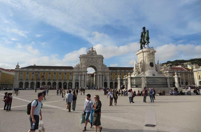 Plaza del Comercio de Lisboa plazas más bonitas de Europa