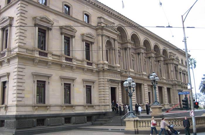 The Old Treasury Building qué ver en Melbourne