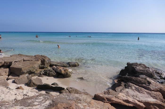 Caló des Mort Playas de Formentera