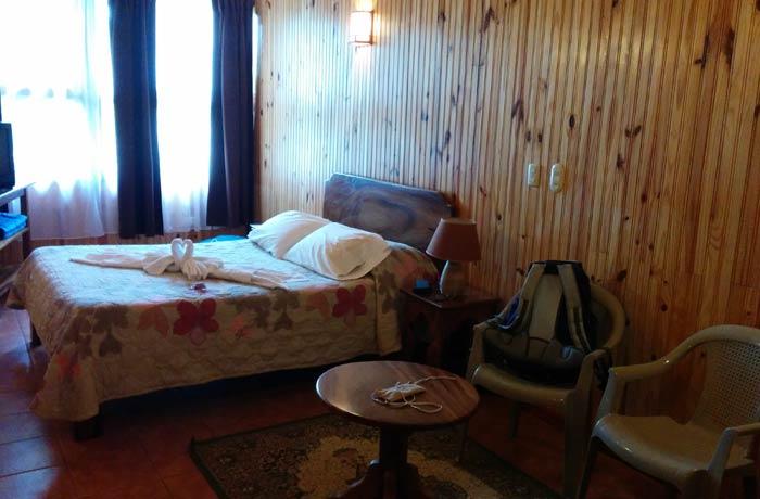 Habitación del hotel El Viandante qué hacer en Monteverde