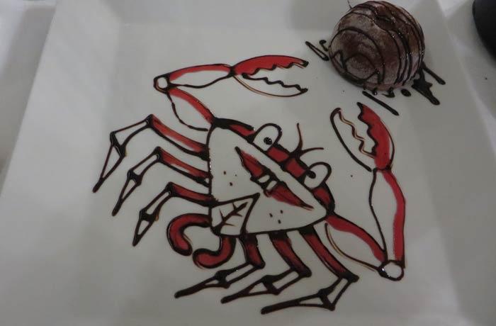 Helado de chocolate de Can Rafalet comer en Formentera