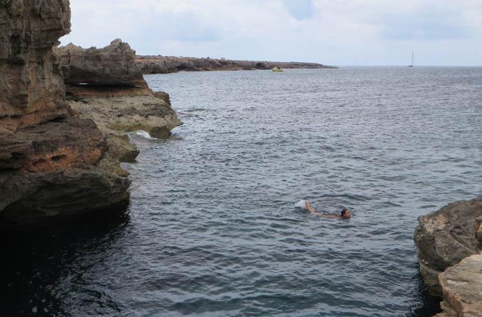 Les Piscinetes de Can Marroig Playas de Formentera