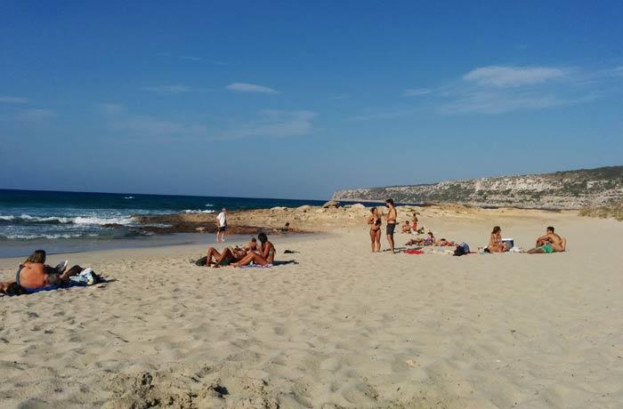 Tranquilidad en una de las playas de Ses Platjetes