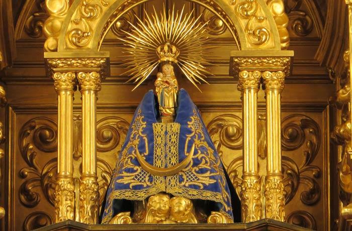 Talla de la Virgen de la Bien Aparecida