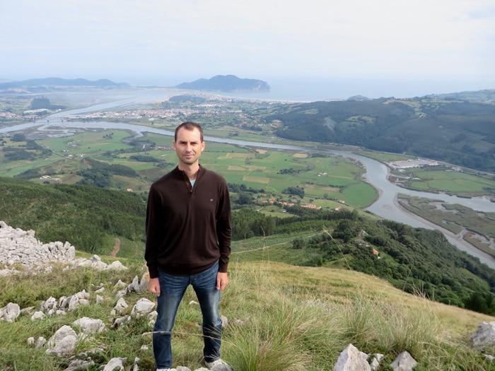 Vistas de la bahía de Santoña desde el Pico Candiano