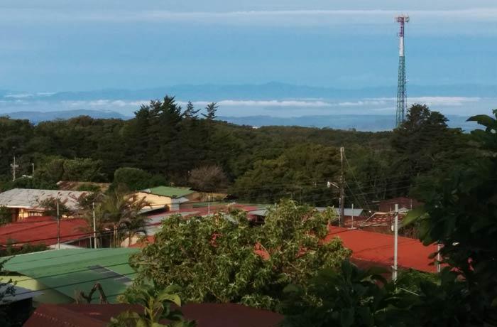 Vistas desde el hotel El Viandante qué hacer en Monteverde