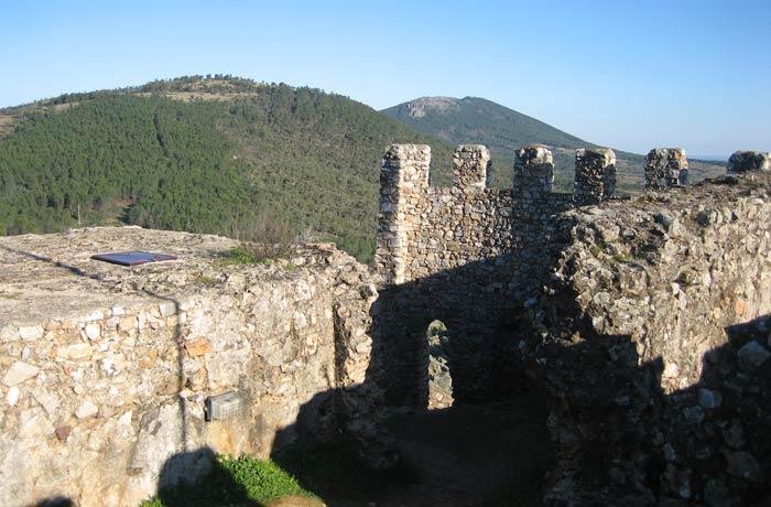 Restos del castillo de Penha Garcia