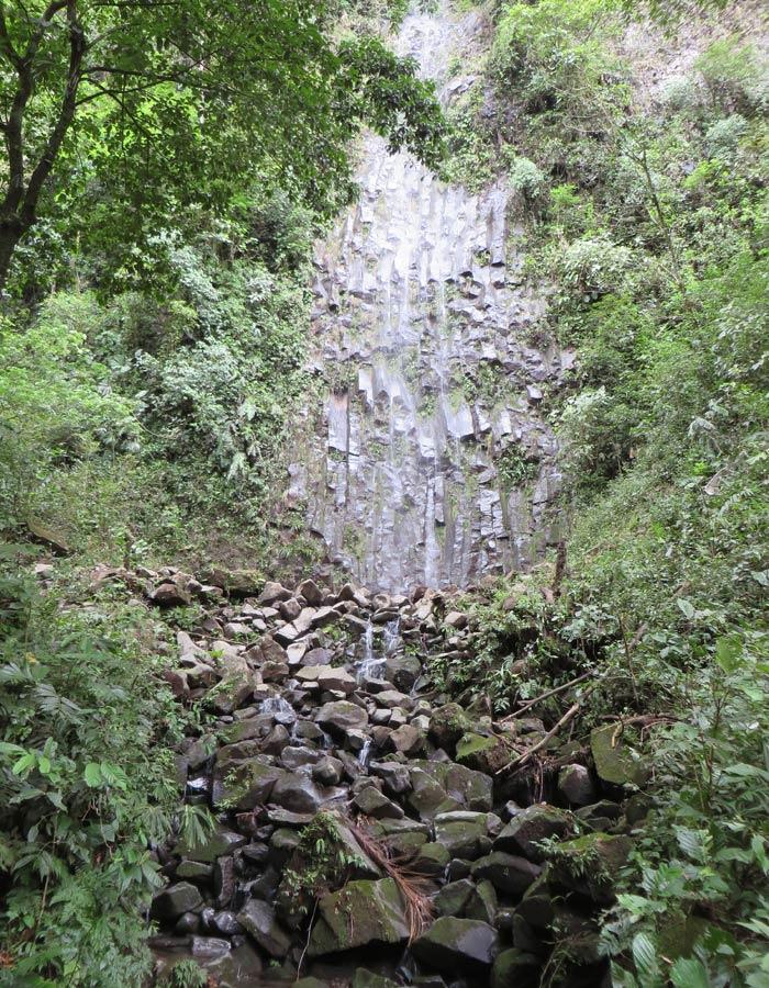 Una de las vistas que se contemplan en el trayecto hacia la catarata La Fortuna