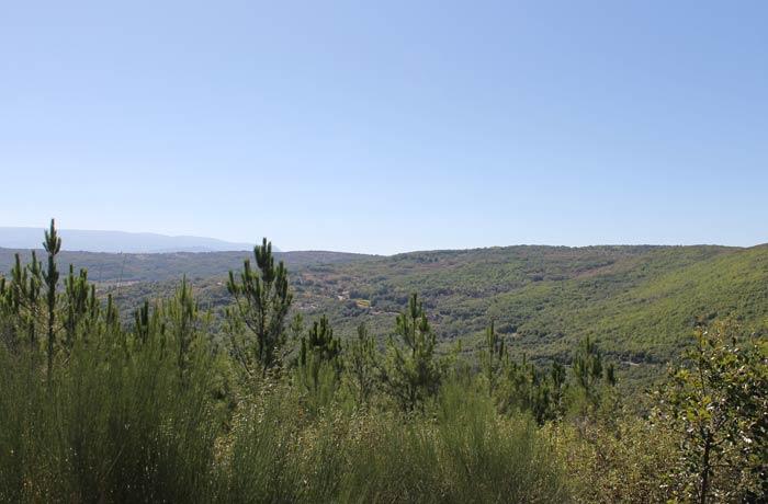 Vista de la Sierra de Béjar senderismo en Salamanca Miradores de las Sierras