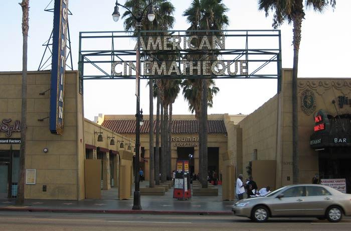 Sede del American Cinematheque Paseo de la Fama de Hollywood