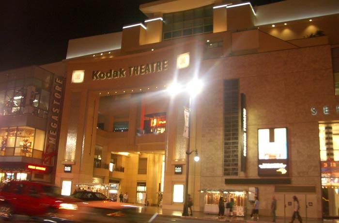 Kodak Theatre, hoy Dolby Theatre Paseo de la Fama de Hollywood
