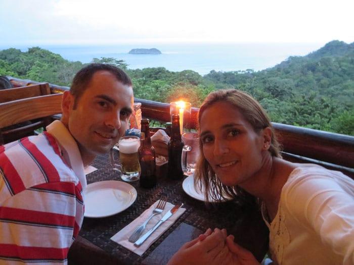 Nuestra cena con vistas en El Avión