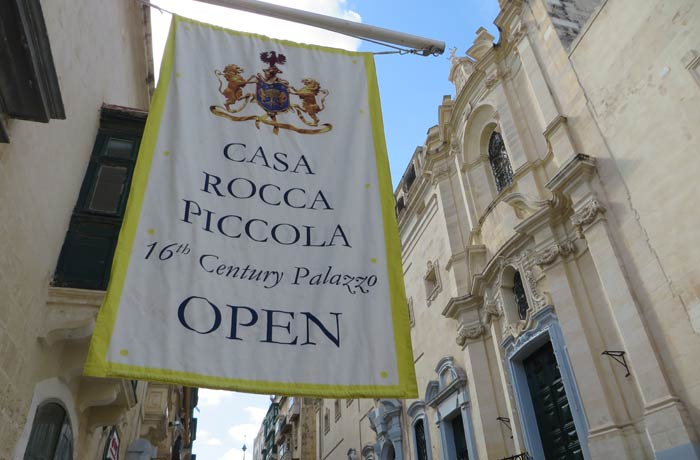 Casa Rocca Piccola qué ver en La Valeta