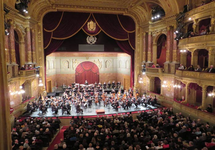 Concierto de la Filarmónica de Budapest en la Ópera