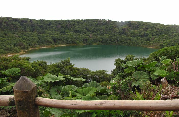 Vista de la Laguna Botos