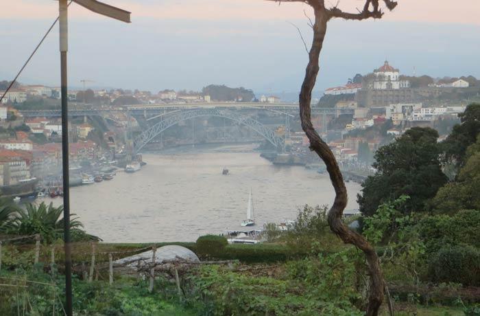 El Duero y el puente Luis I desde la bodega Graham's