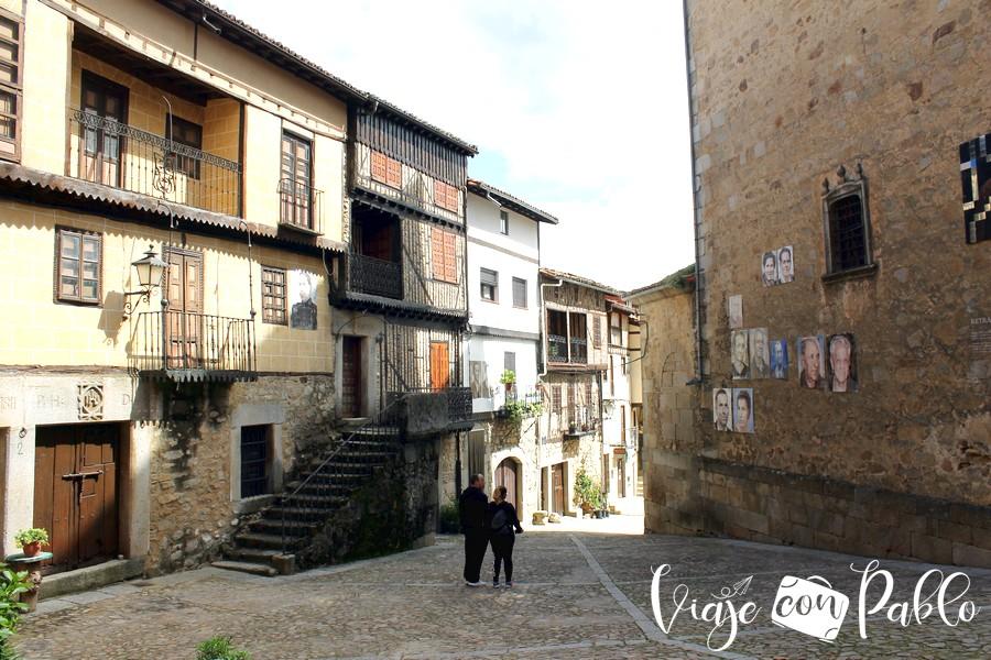 Una calle de Mogarraz