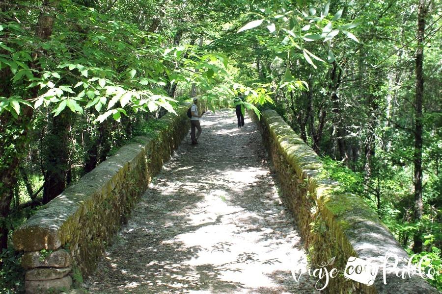 Puente del Pontón Camino del Agua