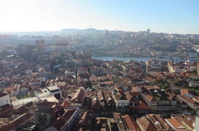 Vista desde la Torre de los Clérigos