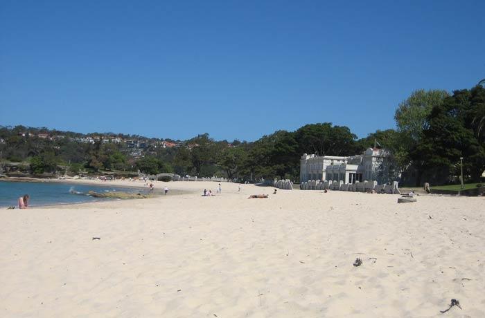 Fina arena de la playa de Balmoral qué ver en Sídney