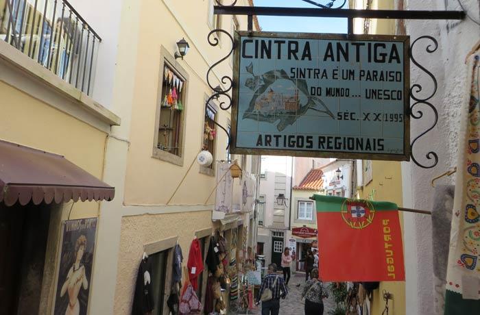Otra de las callejuelas de Sintra