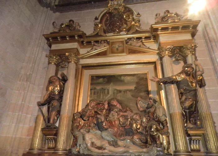 Capilla del Santo Entierro de la Catedral qué ver en Segovia en un día