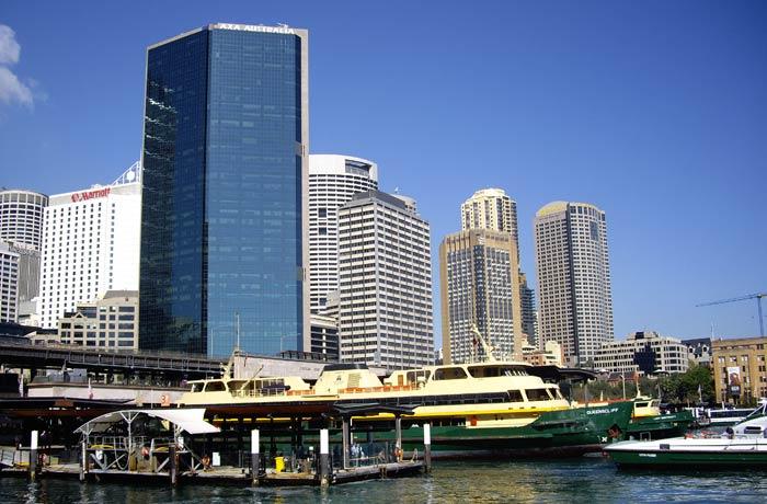 Vista de Circular Quay qué ver en Sídney
