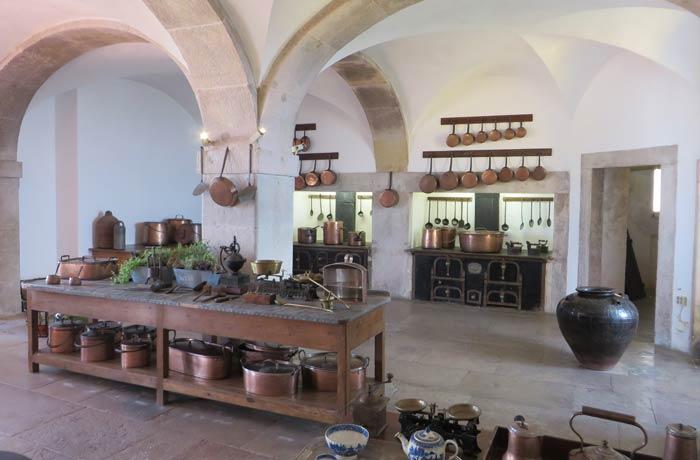 Cocinas del Palacio da Pena qué ver en Sintra