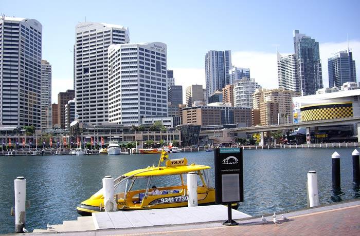 Panorámica del Darling Harbour qué ver en Sídney