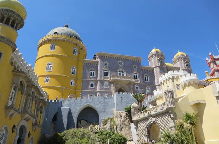 Entrada al Palacio da Pena qué ver en Sintra