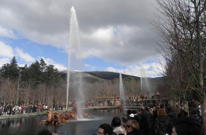 Fuente Carrera de Caballos de La Granja qué ver en Segovia en un día