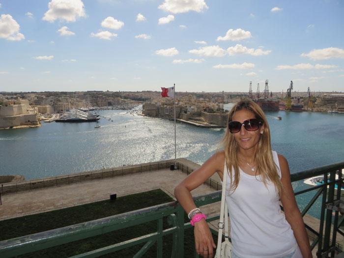 Vista del Gran Puerto y las Tres Ciudades qué ver en La Valeta